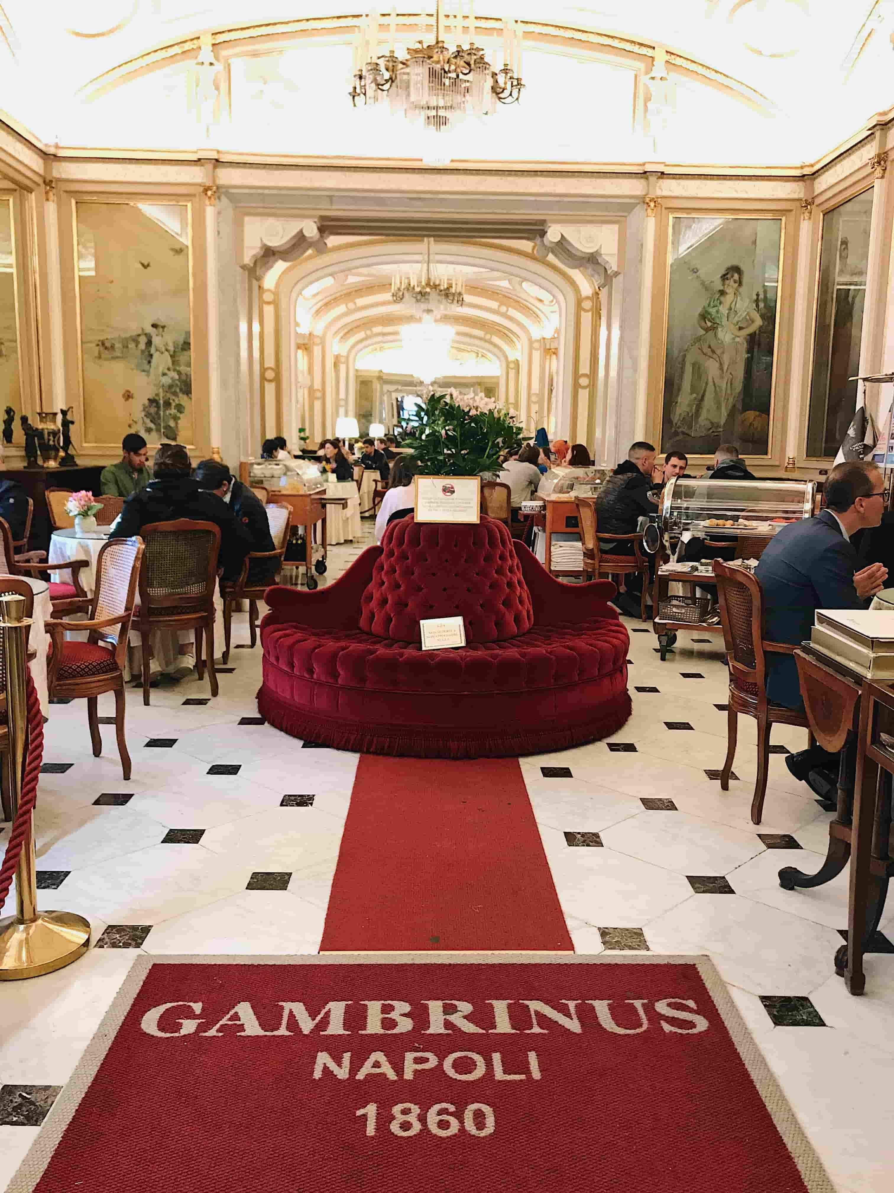 Café Gambrinus : Café historique de la ville de Naples, découvrez les meilleures adresses de la ville