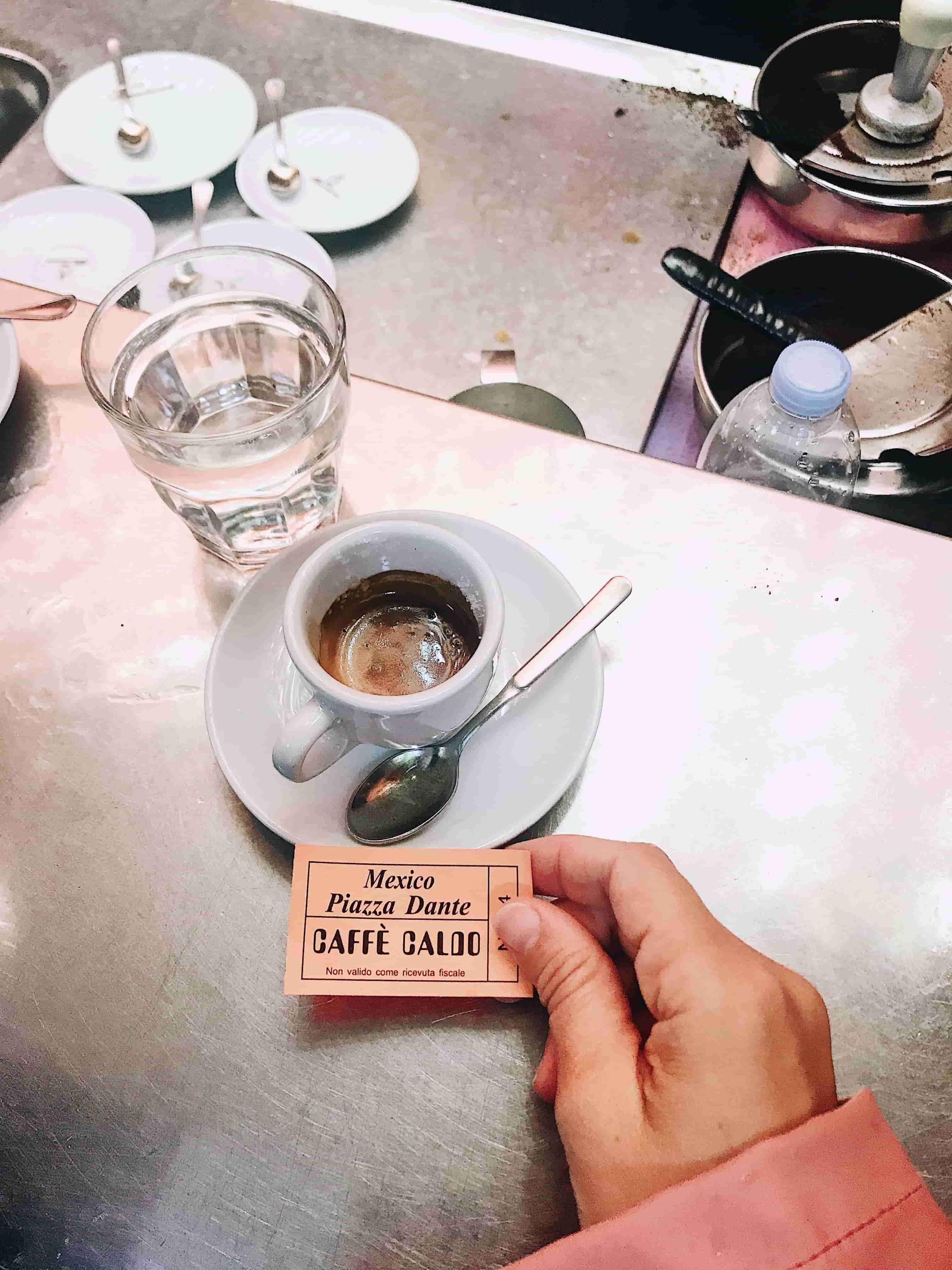 Découvrez la culture du café à Naples : Café Mexico