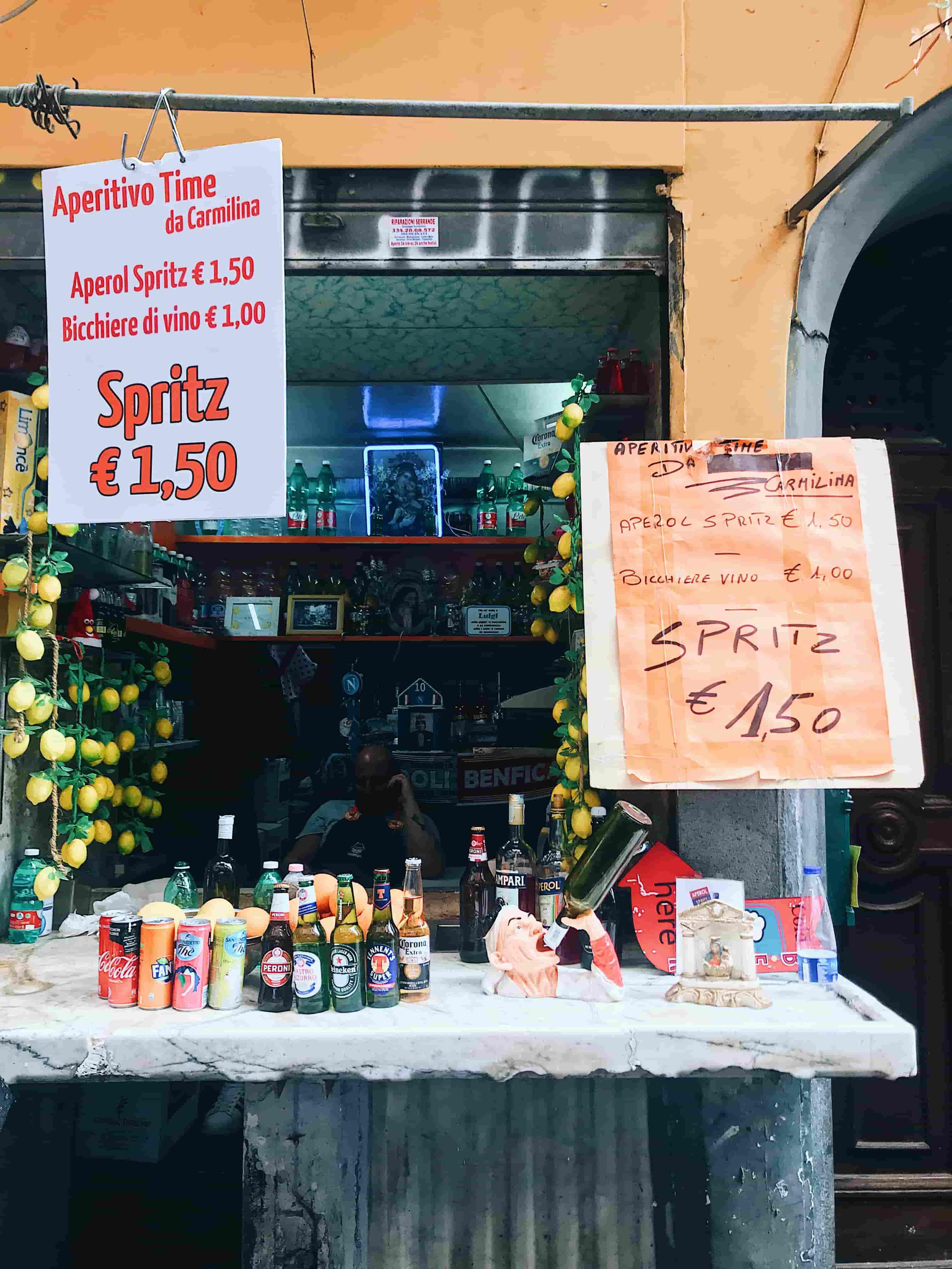 Spritz Top 10 Naples weekend Nutrition Genève bloggeur Cuisine Suisse Anouck Grau