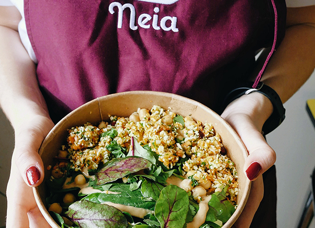 Neia, plateforme communautaire, partage de plat entre particuliers, chef acteurs