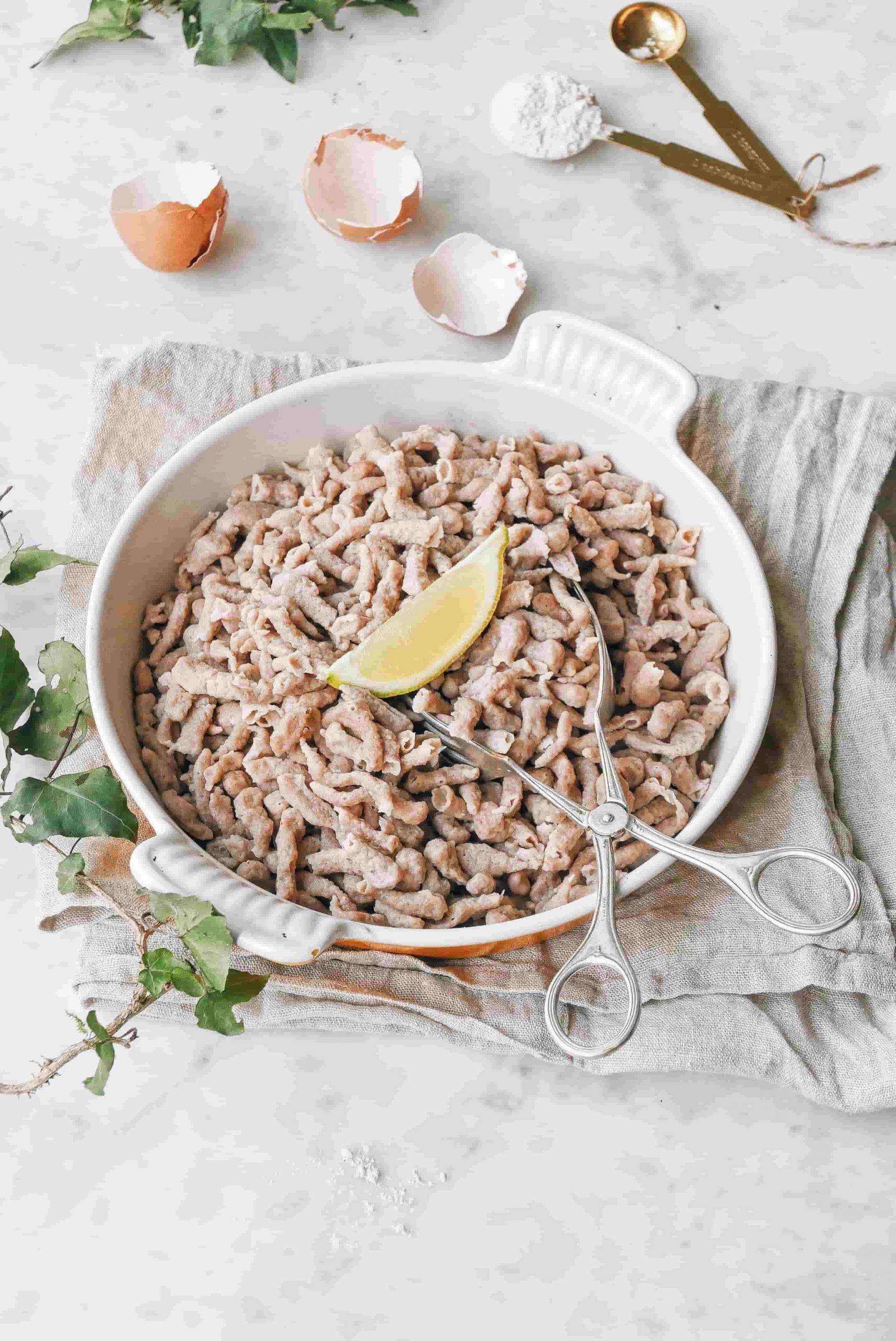 Meilleure recette de Spätlze nutritionniste cheffe privée Anouck Grau