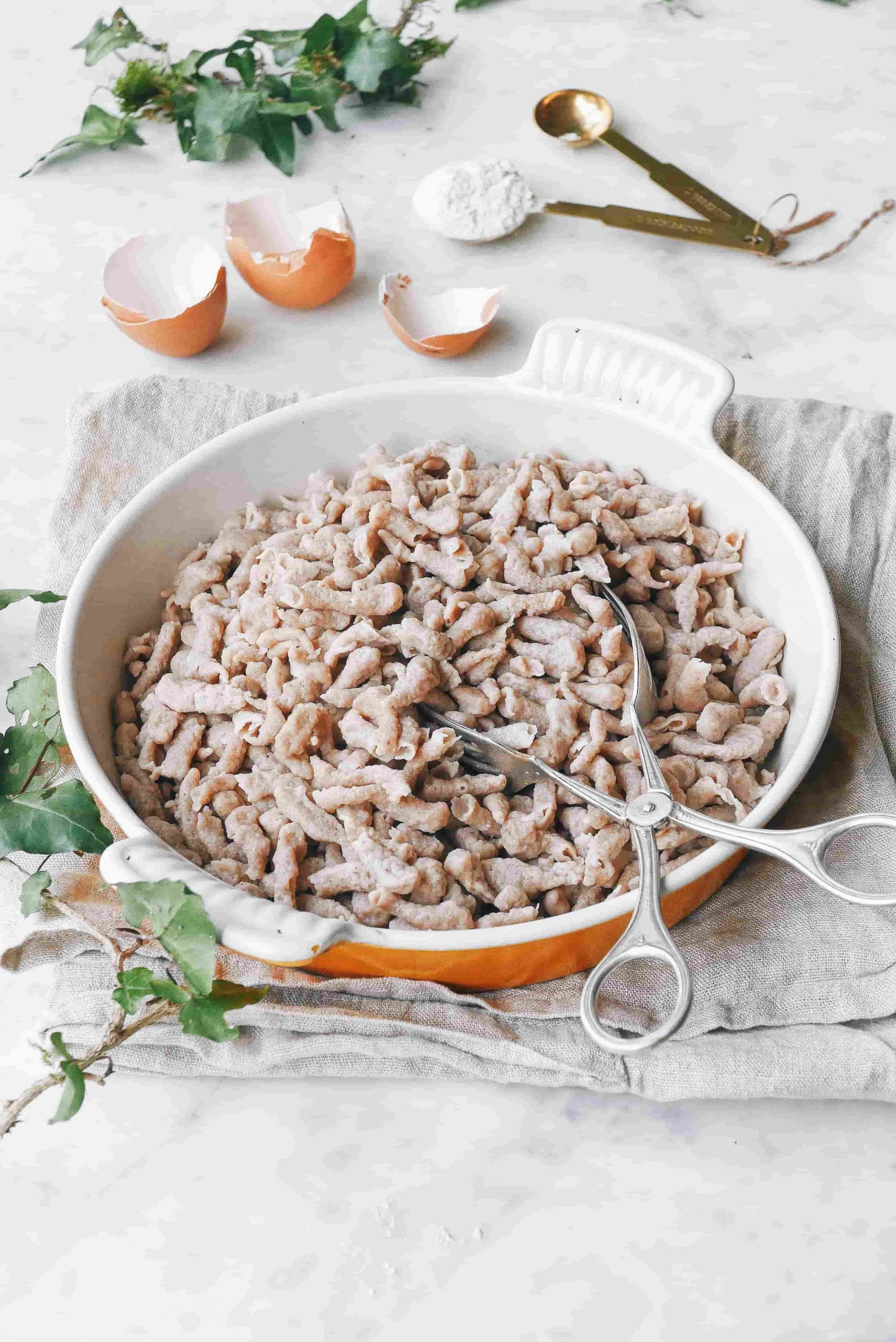 Consultation nutrition en ligne - blog de recette Spätlze maison