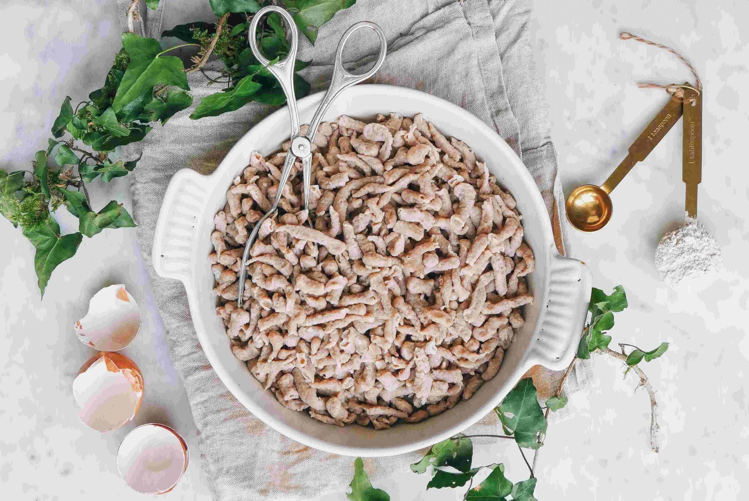 Recette maison de Spätlzis nutrition Genève et Annecy